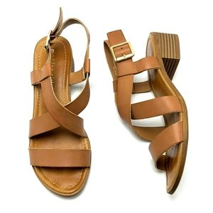 MADDEN GIRL Tulum Strappy Sandal 7.5M Ankle Strap
